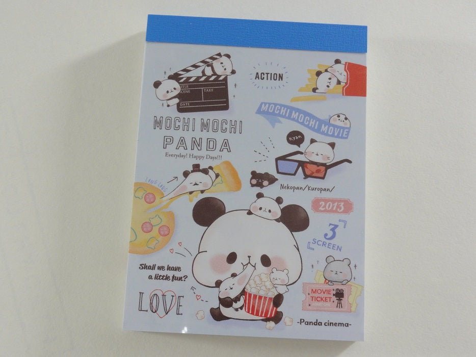 Kawaii Cute Kamio Mochi Panda Mini Notepad / Memo Pad - H - Stationery Design Writing Collection