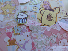 Sanrio Hello Kitty My Melody Purin Little Twin Stars Letter Papers + Envelopes Theme Set
