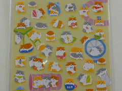 Cute Kawaii Mind Wave Hamsters Sticker Sheet - for Journal Planner Craft