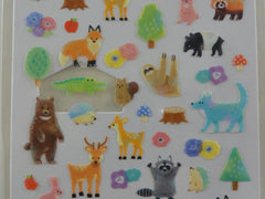 Cute Kawaii Crux Forest Nature Animal Fall Season Sticker Sheet - for Journal Planner Craft