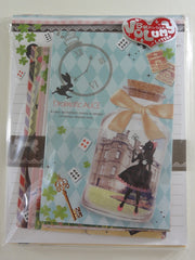 Cute Kawaii Q-Lia Dramatic Alice Letter Set Pack - Penpal Stationery Writing Paper Envelope