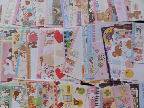 Bear Mini Memo Note Paper Set