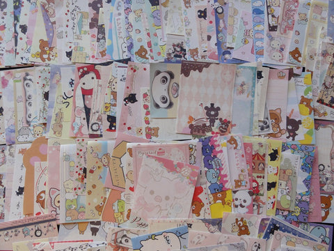 Grab Bag: 100 pcs  SAN-X MINI Note Paper Memo