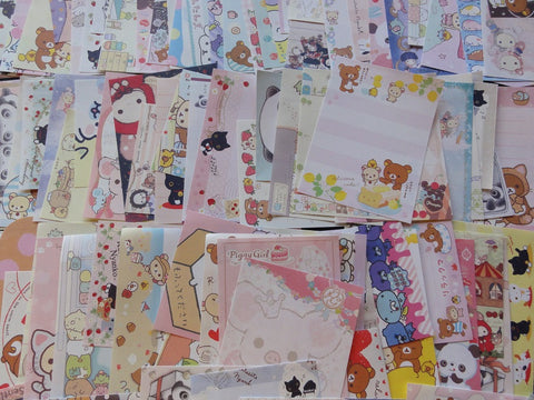 Grab Bag: 200 pcs SAN-X MINI Memo Note Paper