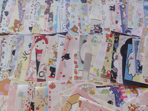 Grab Bag: 50 pcs SAN-X MINI Note Memo Paper