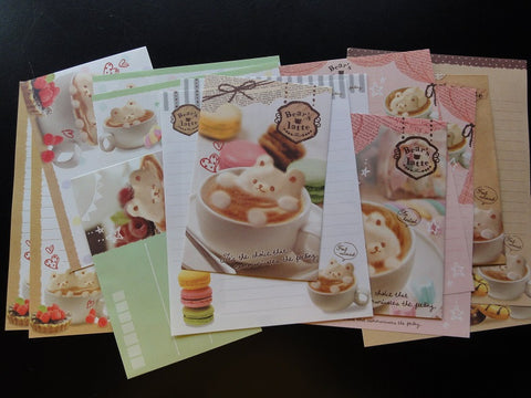 z Q-Lia Bear's Latte Letter Sets
