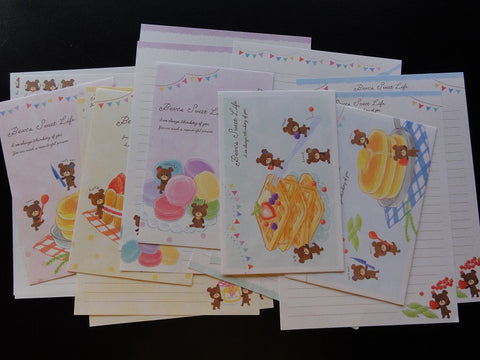 Crux Bear's Sweet Life Letter Sets