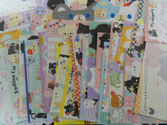 Cute Kawaii Cats Kitten Note Paper Memo Set - Stationery Writing Craft Journal B