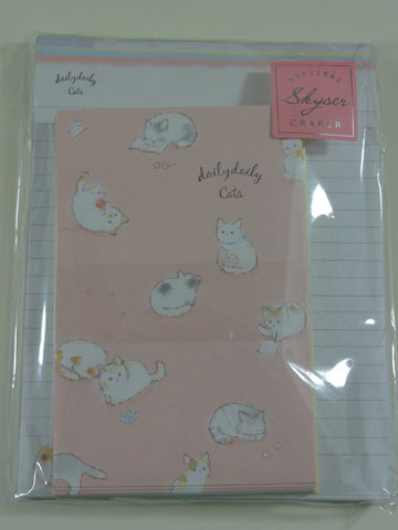 Cute Kawaii Kamio Cats Letter Set Pack - Stationery Writing Paper Penpal