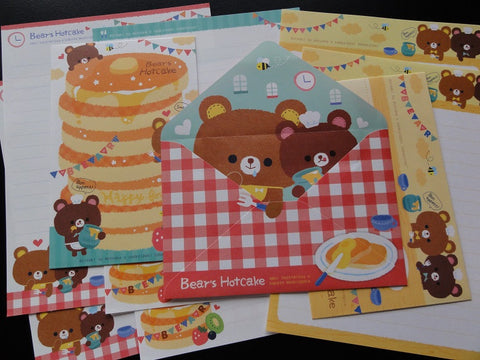 z Q-Lia Bear's Hot Cake Letter Sets