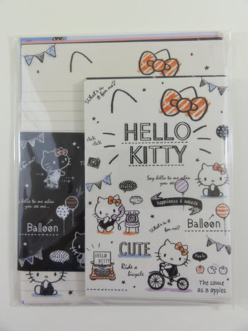 Cute Kawaii Sanrio Hello Kitty Letter Set Pack - Stationery Penpal Writing Paper Envelope