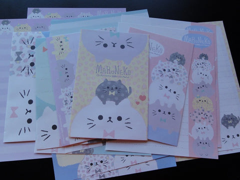 z Q-Lia MaruNeko Cat Letter Sets