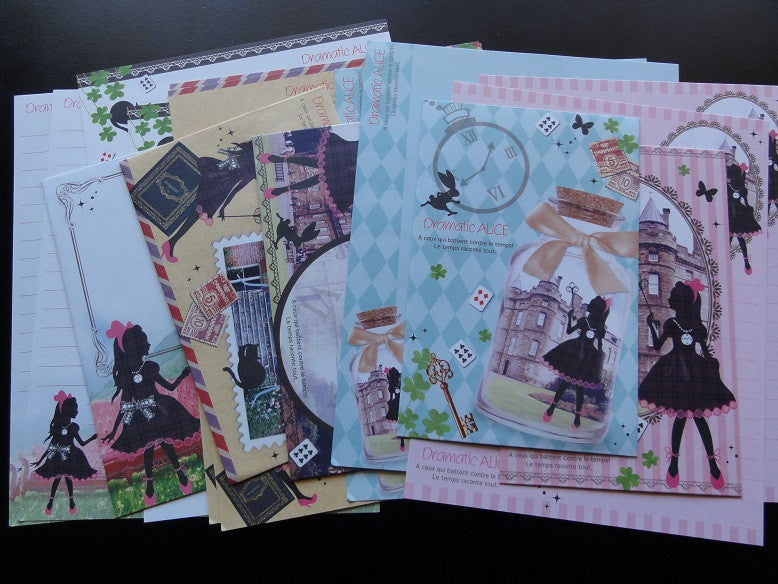 Q-Lia Dramatic Alice Letter Sets