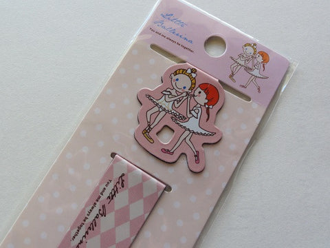 Ballerina Magnetic Bookmarks - B