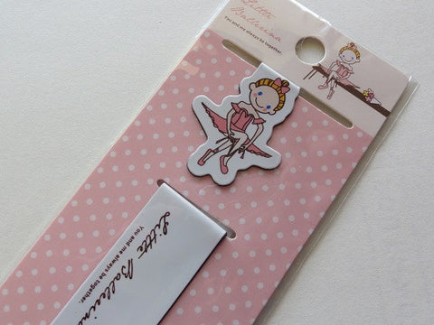 Ballerina Magnetic Bookmarks - A