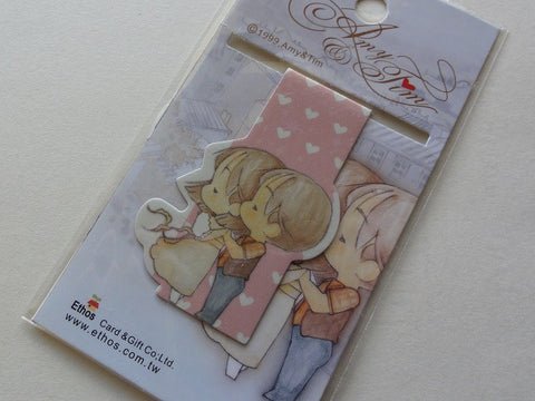 Amy and Tim Magnetic Bookmark - A