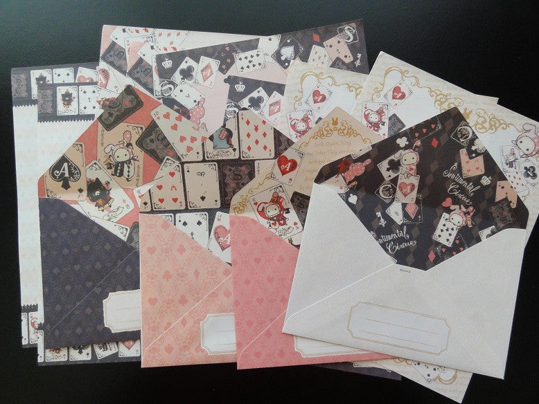 San-X Sentimental Circus Letter Sets - E