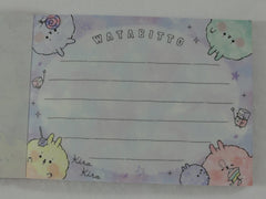 Cute Kawaii Crux Cotton Candy Rabbit Mini Notepad / Memo Pad - Stationery Designer Writing Paper Collection