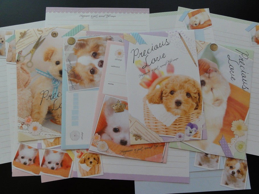 z Crux Precious Love Puppies Dog Letter Sets