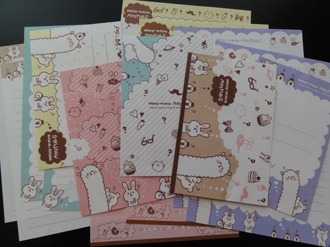 z Q-Lia Moya Moya Animals Letter Sets