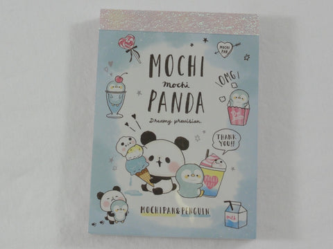 Kawaii Cute Kamio Mochi Panda Mini Notepad / Memo Pad - I - Stationery Designer Writing Paper Collection
