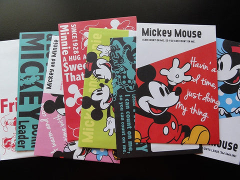 Disney Mickey Mouse Envelopes