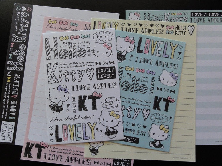 Sanrio Hello Kitty Lovely Letter Sets