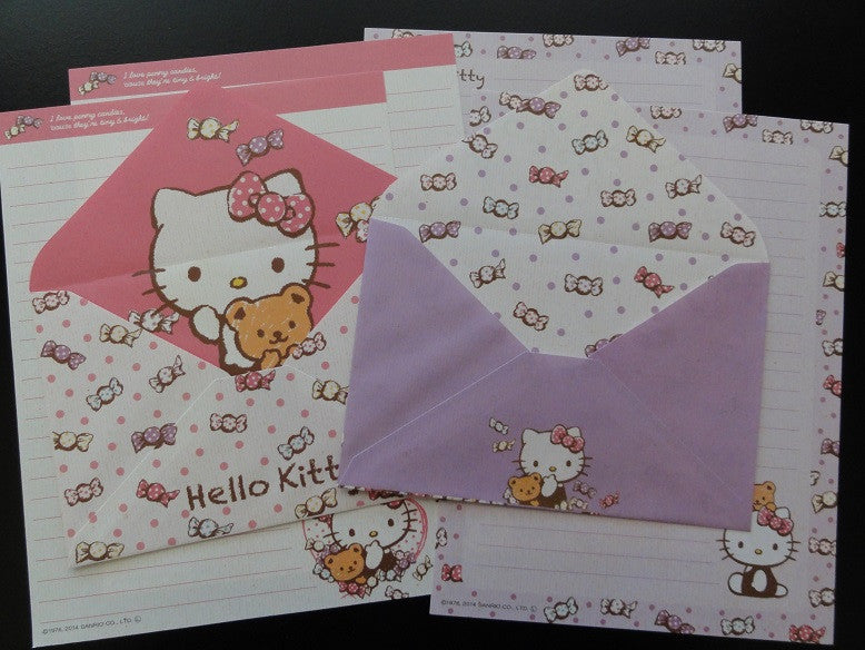z Sanrio Hello Kitty Candy Letter Sets