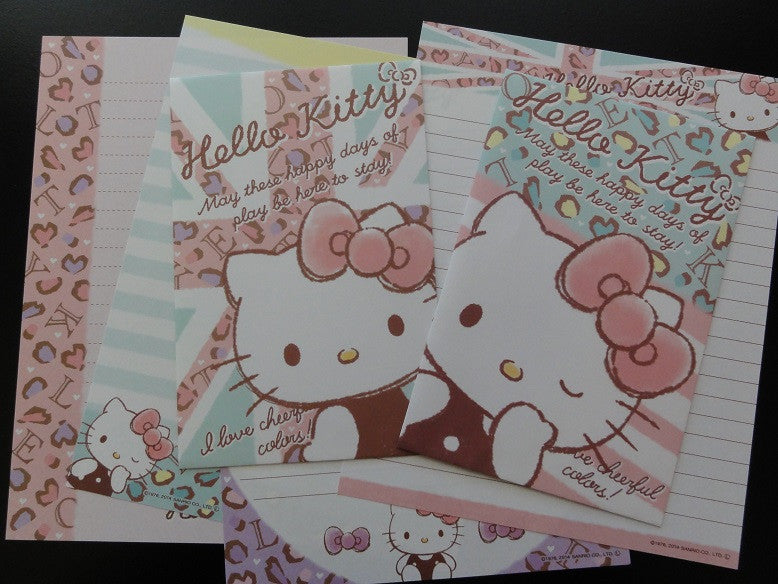 z Sanrio Hello Kitty Lives in London Letter Sets