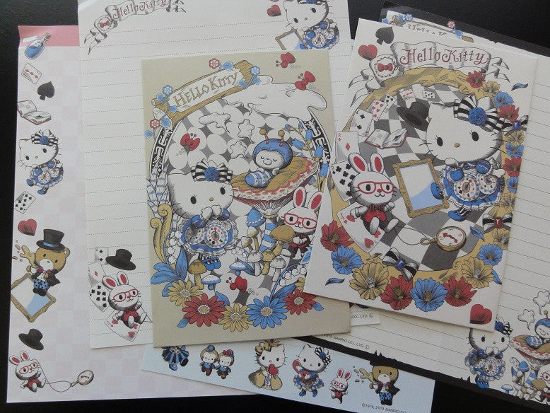 z Sanrio Hello Kitty Alice Letter Sets