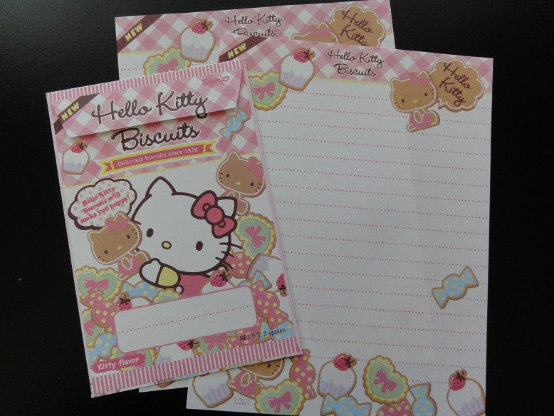 Sanrio Hello Kitty Biscuits Letter Set