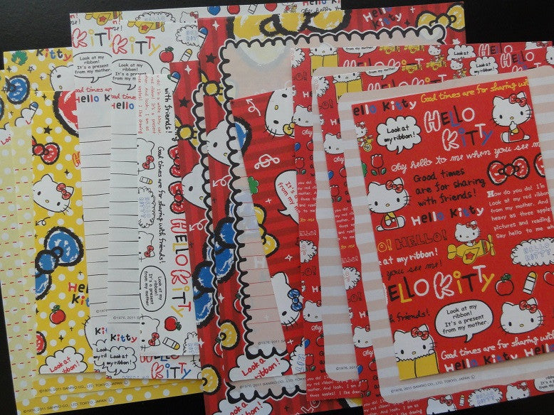 z Sanrio Hello Kitty Retro Letter Sets