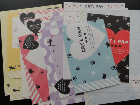 z Q-Lia Cat's Paw Letter Sets