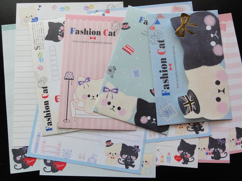 Crux Fashion Cat Letter Sets