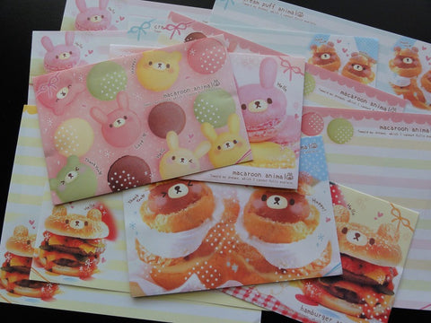 Crux Sweets Macaroon Cram Puff Burger Letter Sets