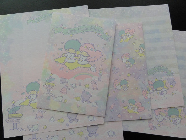 Sanrio Little Twin Stars 40th Anniversary Letter Sets - A
