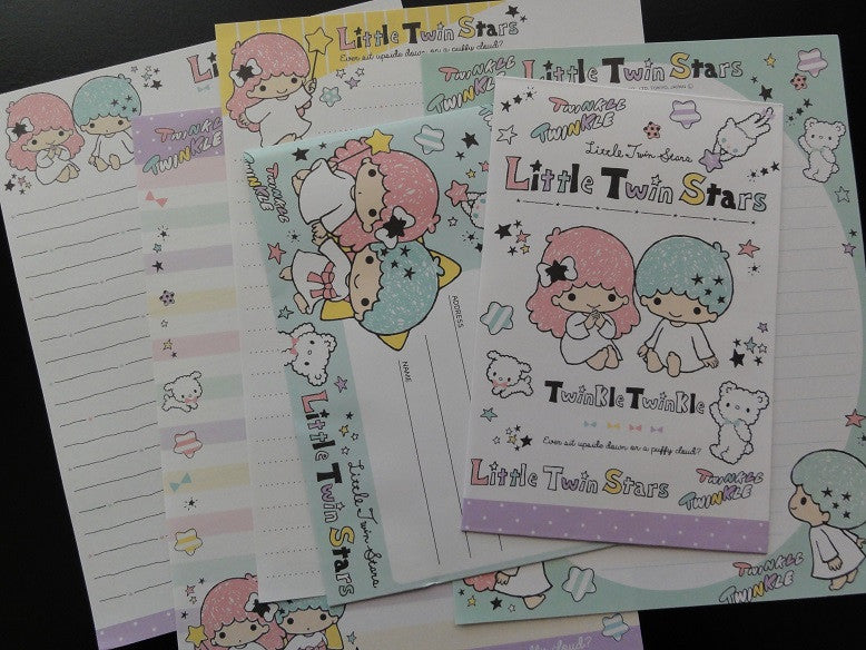 Sanrio Little Twin Stars Twinkle Letter Sets