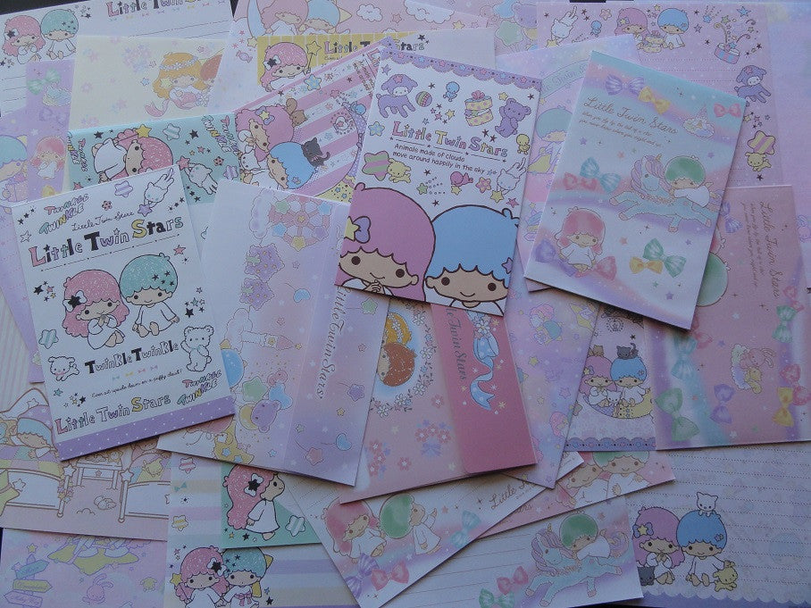 Sanrio Little Twin Stars Letter Paper + Envelope Theme Set