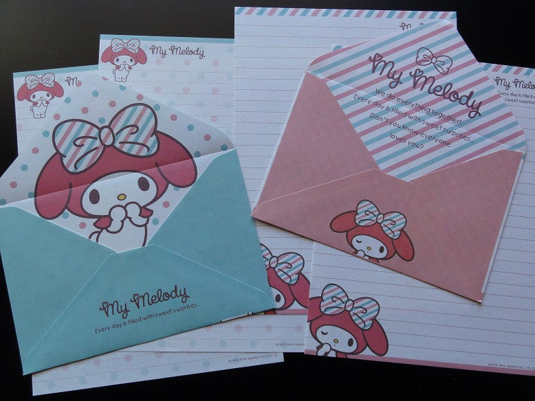 Sanrio My Melody Sweet Surprises Letter Sets