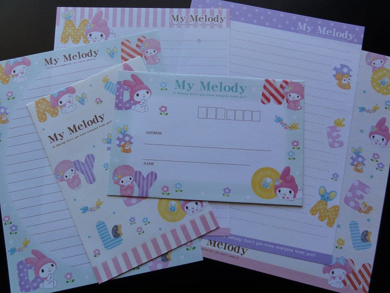 Sanrio My Melody Letters Letter Sets
