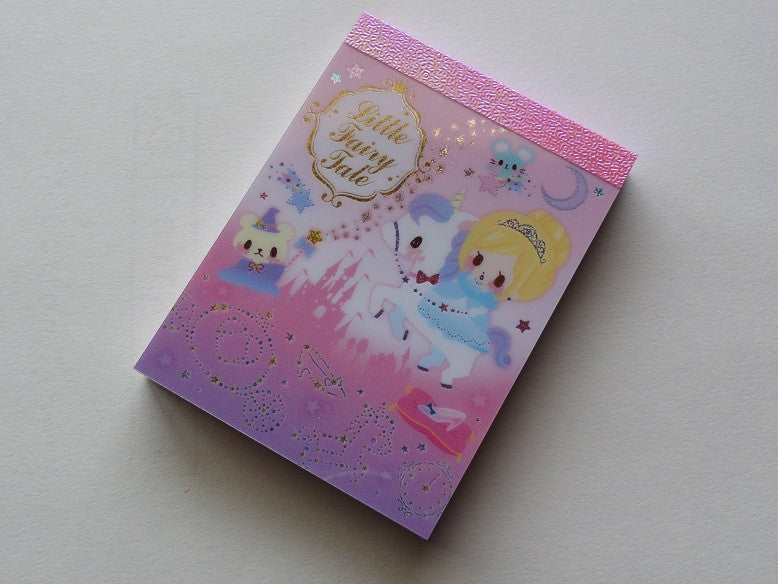 Q-Lia Little Fairy Tale Mini Notepad / Memo Pad - D