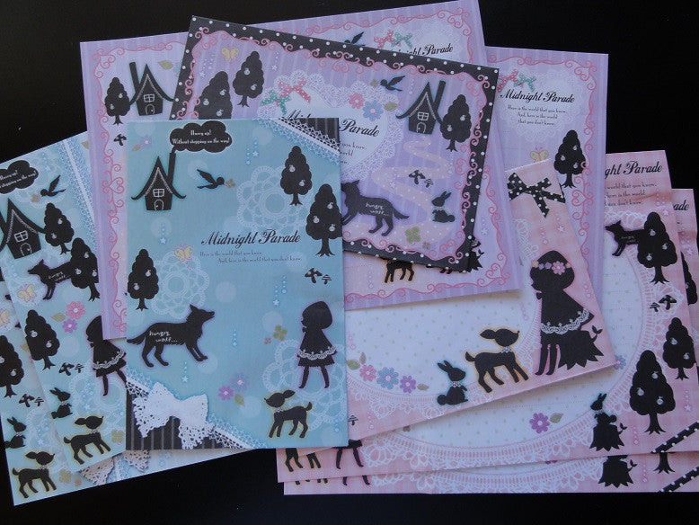 Q-lia Midnight Parade Fairy Tale Letter Sets