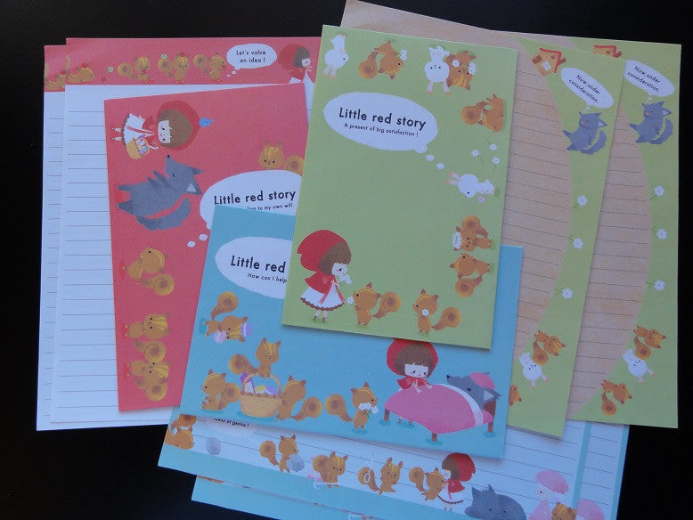 z Kamio Little Red Story Letter Sets