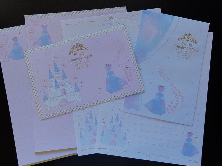 Q-Lia Starry Magical Night Princess Fairy Tale Letter Set