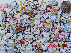 Peanuts Snoopy Flake Sack Stickers - 60 pcs - A