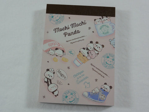Kawaii Cute Kamio Mochi Panda Mini Notepad / Memo Pad - J - Stationery Designer Writing Paper Collection