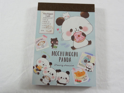 Kawaii Cute Kamio Mochi Panda Mini Notepad / Memo Pad - L - Stationery Designer Writing Paper Collection
