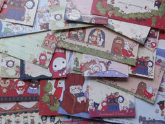 z San-X Sentimental Circus Red Riding Hood Memo Note Paper Set