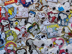 Peanuts Snoopy Flake Sack Stickers - 60 pcs - B