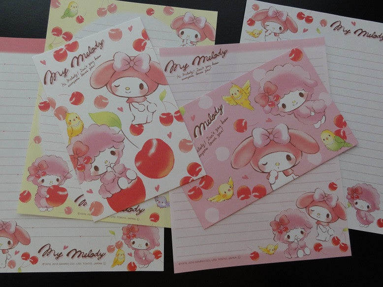 Sanrio My Melody Cherries Letter Sets